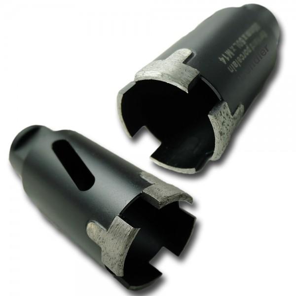 Diamant Bohrkrone für Winkelschleifer M14-Anschluss für Granit/ Marmor/Naturstein trocken
