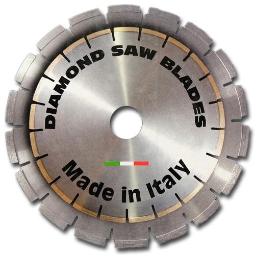 Diamant Trennscheibe Ø 600 x 50/60 Granit Leisekern für Brückensäge -Made in Italy-