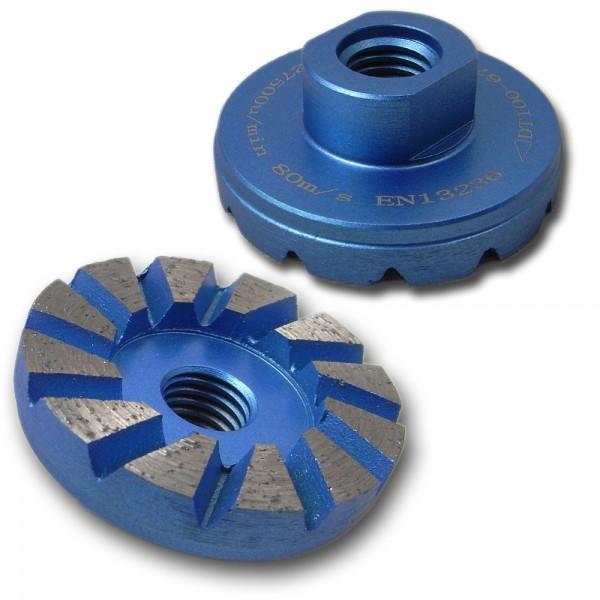 Diamant-Schleiftopf Turbo-mini Ø 30-125mm M14-Aufnahme