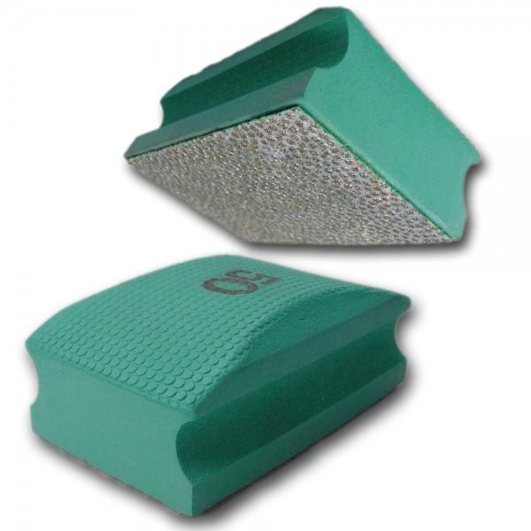 Diamant Kantenschleifer Handpolierpad / elastisch